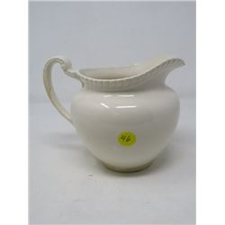 "CREAM PITCHER *CHIPPED**CRACKED* (5.5"" H; JOHNSON BROTHERS, ENGLAND)"