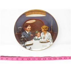 COLLECTOR PLATE (BRADFORD EXCHANGE) *6TH IN ROCKWELL'S LIGHT CAMPAIGN SERIES*