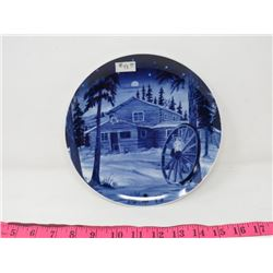 COLLECTOR PLATE (CANADA CHRISTMAS PLATE 1979) *MADE IN GERMANY*