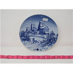 COLLECTOR PLATE (CANADA CHRISTMAS PLATE 1981) *MADE IN GERMANY*
