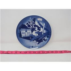 COLLECTOR PLATE (CANADA CHRISTMAS PLATE 1982) *MADE IN GERMANY*