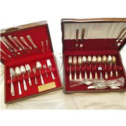 2 ROGERS CUTLERY SETS *PARTIAL SETS*
