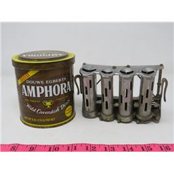 COIN DISPENSER (HIGH SPEED) & PIPE TOBACCO TIN (AMPHORA)