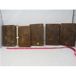 LOT OF 5 ANTIQUE BOOKS (JOHNSONS WORKS) *1816*