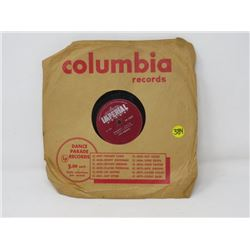 78 RPM RECORDS (FATS DOMINO) *BLUEBERRY HILL-HONEY CHILE*