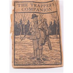 THE TRAPPERS COMPANION (COLUMBUS OHIO) *MISSING PAGES*