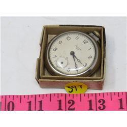 WESCLOX POCKET WATCH (IN BOX) *NO SECOND HAND*