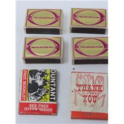 LOT OF 6 (4 BOXES - THE BRASS PLUM & 2 OTHERS)