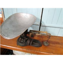 SCALE, PAN & WEIGHTS (RENFREW CANADA 24 LB) R.E. PRODUCTS, LTD.