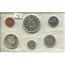 1966 CNDN 1 CENT PC TO DOLLAR PROOF SET