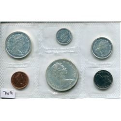 1967 CNDN PROOF SET (6 PCS)