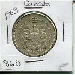 1963 CNDN 50 CENT PC (SILVER)