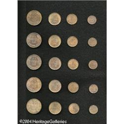Guernsey. Five Choice Bronze Sets, identical to the previous Five Choice Bronze Sets,