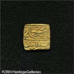 India. Sultans of Malwa. Gold Tanka Circa 1470-1500, simil Sultans of Malwa. Gold Tanka Circa 1470-1
