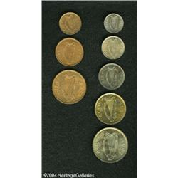 Ireland. Mixed Date Mint Set, Threepence, Shilling, Florin and H Mixed Date Mint Set,