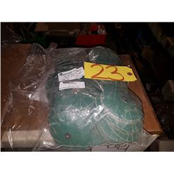 "Bag (100) Abrasives Overlap Slotted Disc 4""x1/4-20 Gr.80"