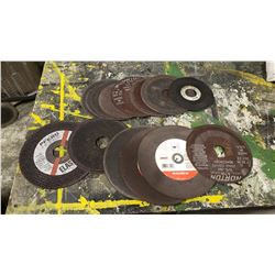 Lot of Assorted Cutting Disc
