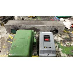 Lot of electric Box