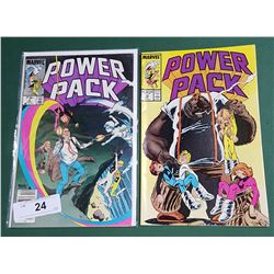 2 VINTAGE COLLECTIBLE POWER PACK $0.75 & $1.00 COMICS