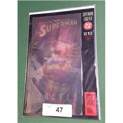VINTAGE SUPERMAN FOREVER COMIC W/HOLOGRAPHIC COVER