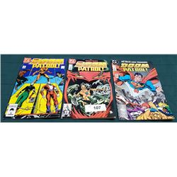3 VINTAGE COLLECTIBLE THE DOOM PATROL $0.75 & $1.00 COMICS