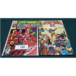 VINTAGE RESURRECTION $2.50 & SECRET WARS II $1.25