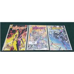 3 VINTAGE COLLECTIBLE WHISPER $1.75 & $1.95 COMICS