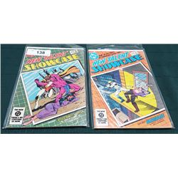 2 VINTAGE COLLECTIBLE NEW TALENT SHOWCASE $1.25 COMICS