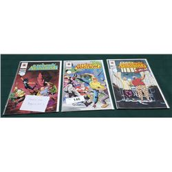 3 VINTAGE COLLECTIBLE ARCHER AND ARMSTRONG $2.50 COMICS