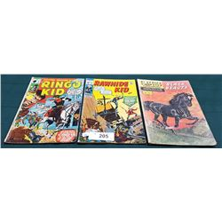 3 VINTAGE COLLECTIBLE $0.15 COMICS