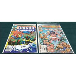 VINTAGE SHOGUN WARRIORS $0.40 & MARVEL TWO-IN-ONE $0.60 COMICS