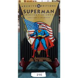SUPERMAN ARCHIVES VOLUME 6 HARDCOVER COMIC BOOK $49.95