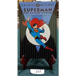 SUPERMAN THE ACTION COMICS ARCHIVES VOLUME 4 HARDCOVER COMIC BOOK $49.95