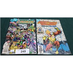VINTAGE CRISIS ON INFINITE EARTHS $0.95 & FIRESTORM $0.75 COMICS