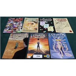 7 VINTAGE COLLECTIBLE STRANGERS IN PARADISE $2.95 & $2.99 COMICS