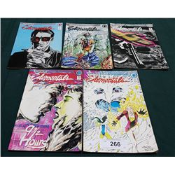 5 VINTAGE COLLECTIBLE ELEMENTALS $1.50 COMICS