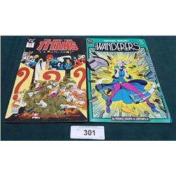 VINTAGETHE NEW TEEN TITANS $1.75 & THE WANDERERS $1.25 COMICS