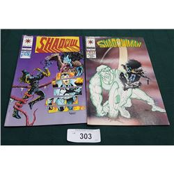 2 VINTAGE COLLECTIBLE SHADOWMAN $2.50 COMICS