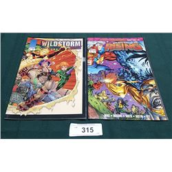 2 VINTAGE COLLECTIBLE WILDSTORM $2.50 & $4.95 COMICS