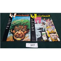 2 VINTAGE COLLECTIBLE WASTELAND $1.75 & $2.00 COMICS