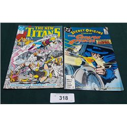 VINTAGE THE NEW TEEN TITANS $1.75 & SECRET ORIGINS $0.75 COMICS