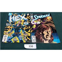 VINTAGE HEX $0.75 & STARMAN $1.00 COMICS