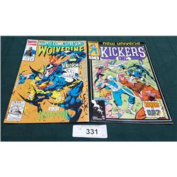 VINTAGE WOLVERINE AND VENOM $1.50 & KICKERS INC $0.75 COMICS