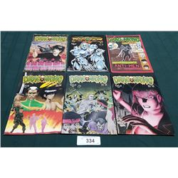 6 VINTAGE COLLECTIBLE DRAGONRING $1.70 & $2.00 COMICS