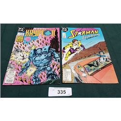 VINTAGE KRYPTON $0.75 & STARMAN $1.00 COMICS