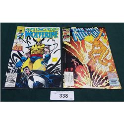VINTAGE WOLVERINE $1.50 & THE NEW MUTANTS $0.60 COMICS