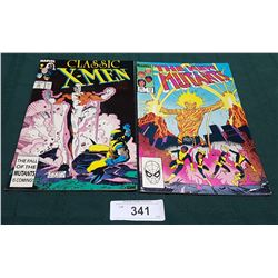 VINTAGE CLASSIC X-MEN $1.00 & THE NEW MUTANTS $0.60 COMICS