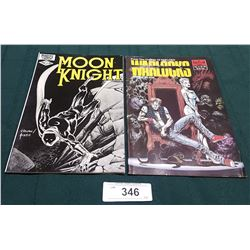 VINTAGE MOON KNIGHT $0.75 & WARLOCKS $1.95 COMICS