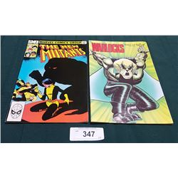 VINTAGE THE NEW MUTANTS $0.60 & WARLOCKS $1.95 COMICS