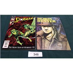 VINTAGE STARMAN $1.00 & DEMON HUNTER $1.95 COMICS